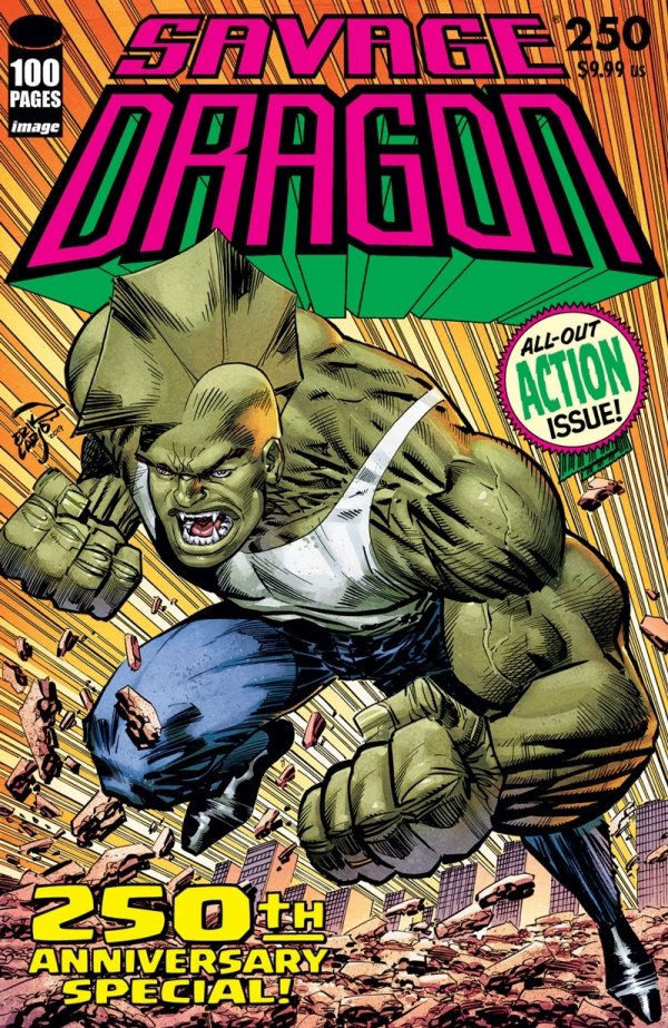 Comic Pulls for the week of July 17, 2020 SAVAGE DRAGON #250