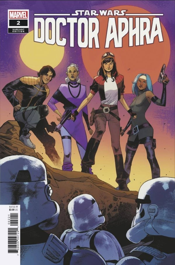 Comic Pulls for the week of July 22, 2020 STAR WARS DOCTOR APHRA #2 PICHELLI VARIANT