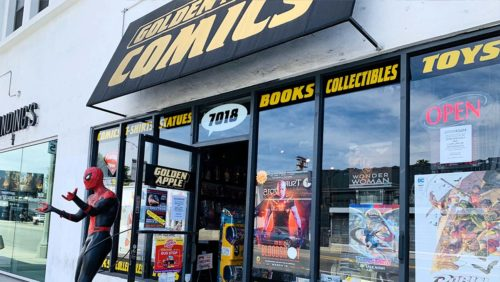 golden apple  publicity   h 2020  500x282 Comic Stores and Diamond Distributors Clash as Industry Reopens