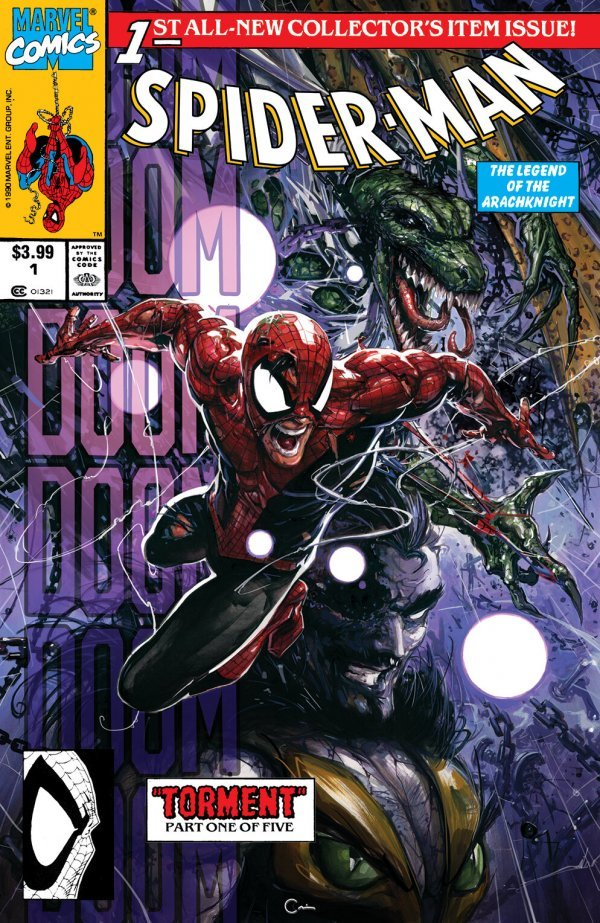 Comic Pulls for the week of August 19, 2020 SPIDER-MAN #1 FACSIMILE EDITION CLAYTON CRAIN EXCLUSIVE A
