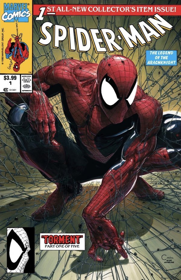 Comic Pulls for the week of August 19, 2020 SPIDER-MAN #1 FACSIMILE EDITION CLAYTON CRAIN VARIANT A