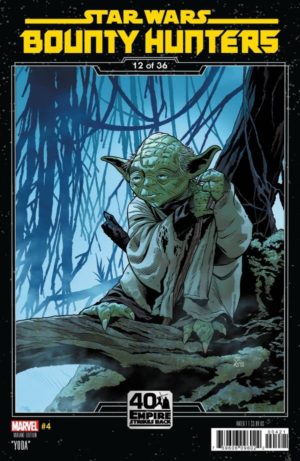 Comic Pulls for the week of August 19, 2020 STAR WARS BOUNTY HUNTERS #4 SPROUSE EMPIRE STRIKES BACK VARIANT COVER