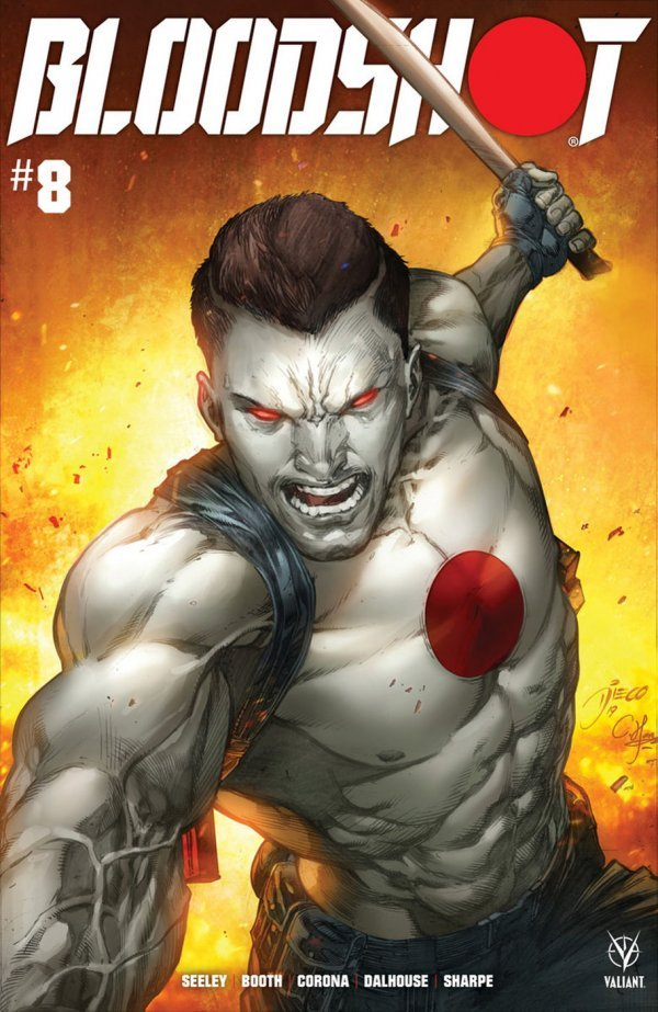 Comic Pulls for the week of September 16, 2020 BLOODSHOT #8 COVER B BERNARD