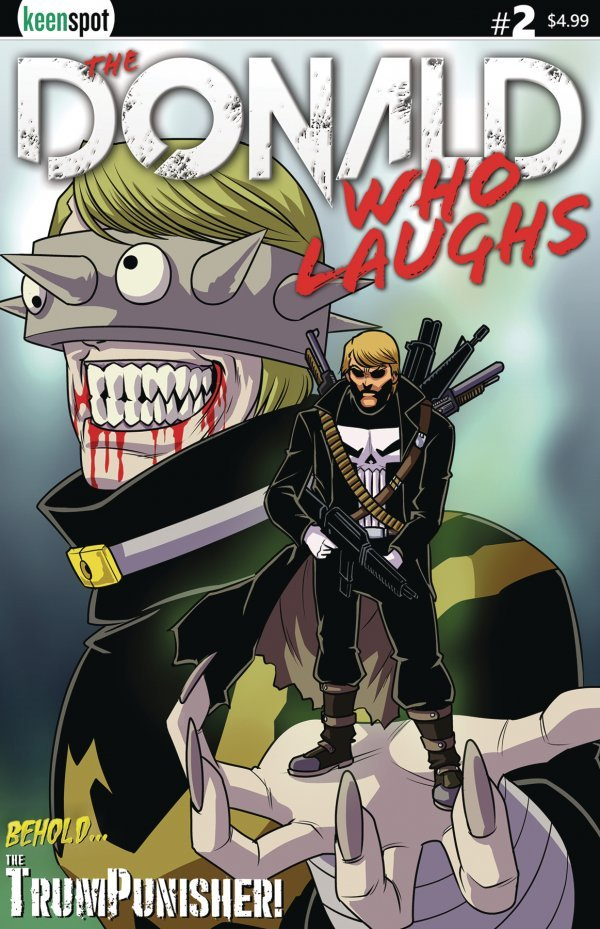 Comic Pulls for the week of September 16, 2020 DONALD WHO LAUGHS #2