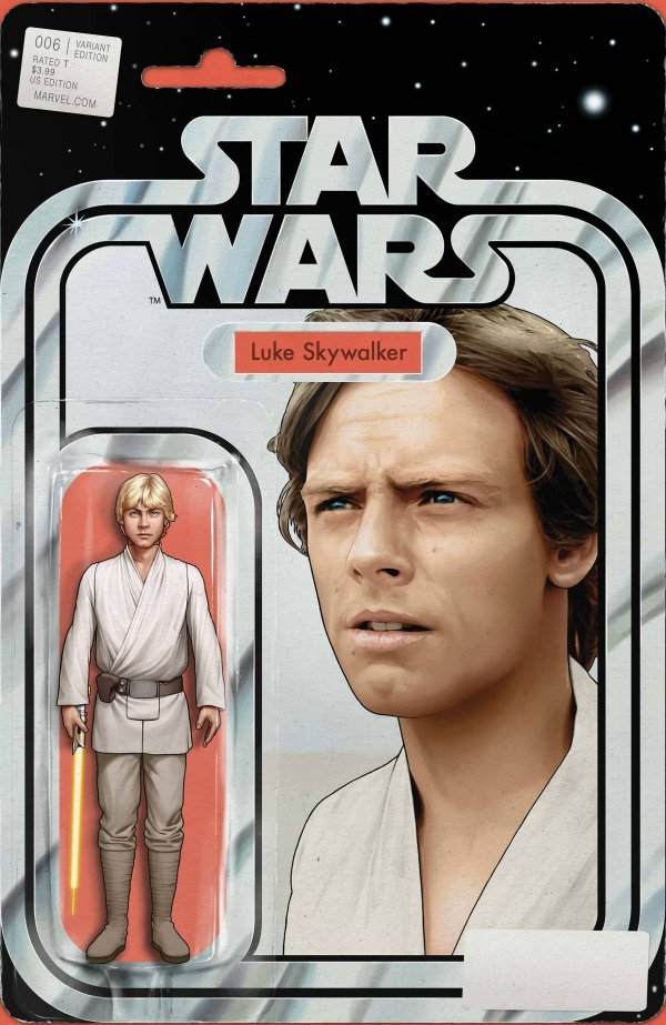 Comic Pulls for the week of September 16, 2020 STAR WARS #6 125 CHRISTOPHER YELLOW LIGHTSABER ACTION FIGURE VARIANT