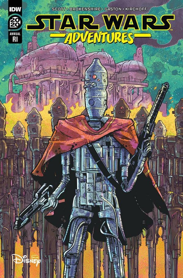 Comic Pulls for the week of September 11, 2020 STAR WARS ADVENTURES ANNUAL 2020 110 INCENTIVE VARIANT