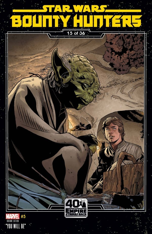 Comic Pulls for the week of September 23, 2020 STAR WARS BOUNTY HUNTERS #5 SPROUSE EMPIRE STRIKES BACK VARIANT