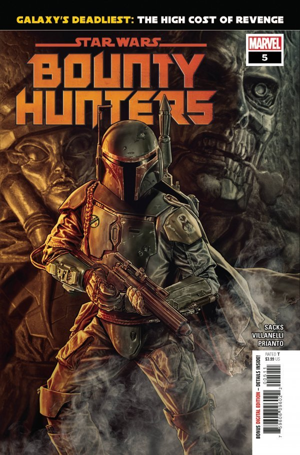 Comic Pulls for the week of September 23, 2020 STAR WARS BOUNTY HUNTERS #5