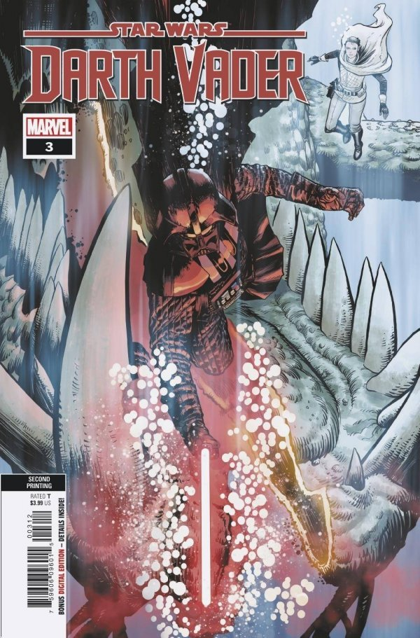 Comic Pulls for the week of September 11, 2020 STAR WARS DARTH VADER #3 2ND PRINTING