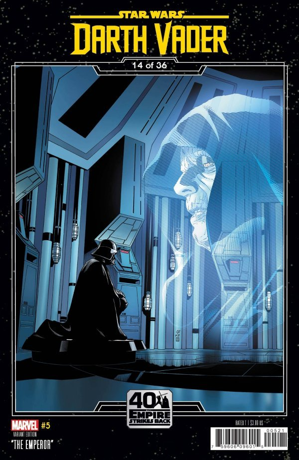 Comic Pulls for the week of September 16, 2020 STAR WARS DARTH VADER #5 SPROUSE EMPIRE STRIKES BACK VARIANT