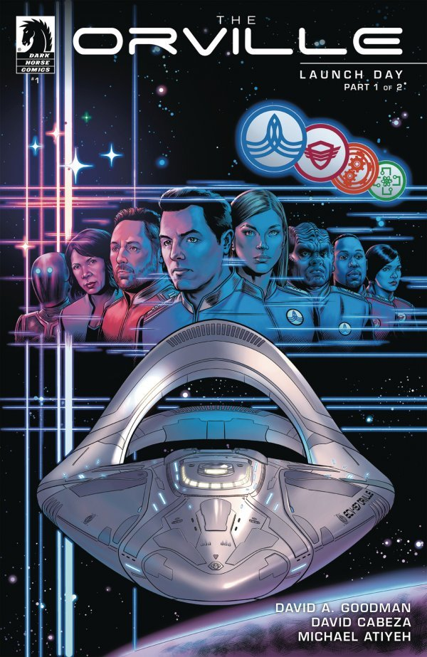 Comic Pulls for the week of September 2, 2020 THE ORVILLE #1
