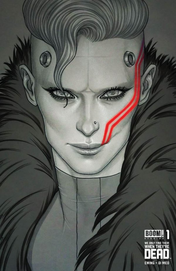 Comic Pulls for the week of September 2, 2020 WE ONLY FIND THEM WHEN THEY'RE DEAD #1 JENNY FRISON B&W SPOT COLOR VARIANT