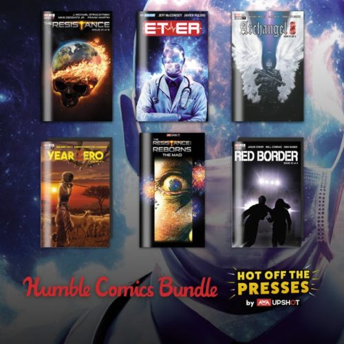 74089502fb9a323a8075281cdf0609b90e62193c 500x500 Humble Comics Bundle: Hot Off the Presses by Upshot/AWA Studios