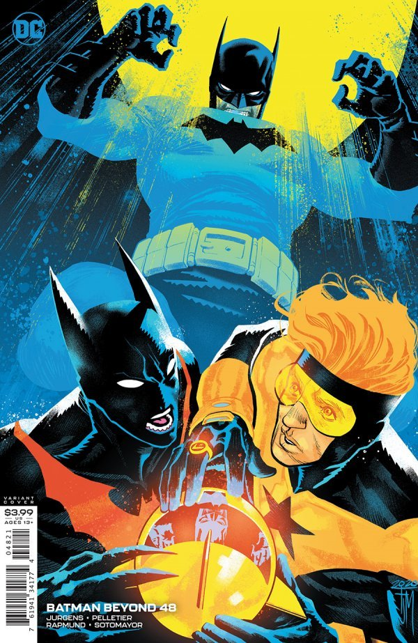 Comic Pulls for the week of October 30, 2020 Batman Beyond #48 Variant Cover