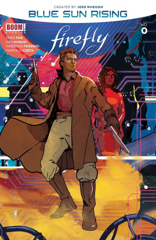 Comic Pulls for the week of October 7, 2020 FIREFLY BLUE SUN RISING #0 COVER B WARD