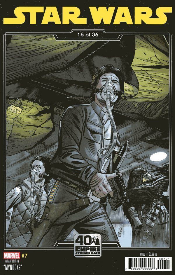 Comic Pulls for the week of October 7, 2020 STAR WARS #7 SPROUSE EMPIRE STRIKES BACK VARIANT