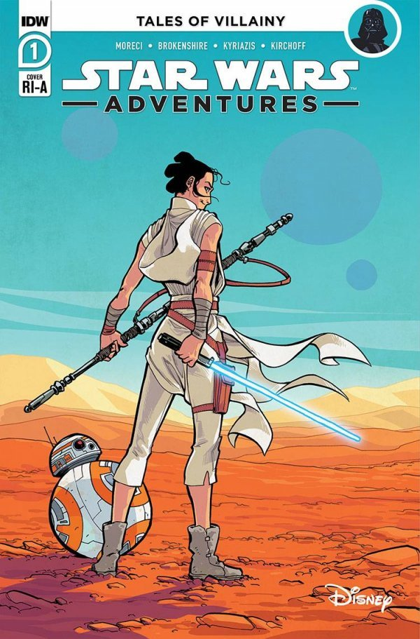 Comic Pulls for the week of October 7, 2020 STAR WARS ADVENTURES #1 110 INCENTIVE VARAINT