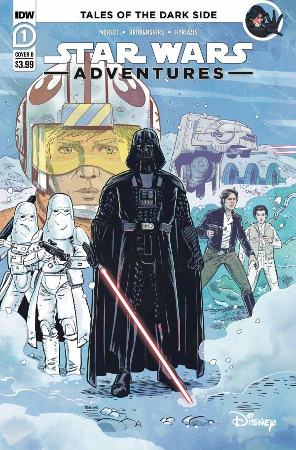 Comic Pulls for the week of October 7, 2020 STAR WARS ADVENTURES #1 COVER B