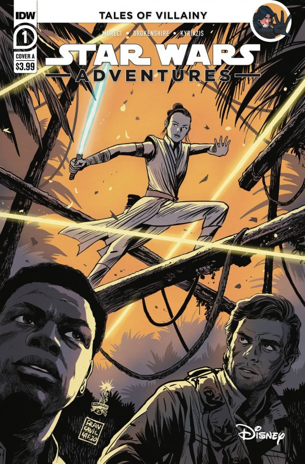 Comic Pulls for the week of October 7, 2020 STAR WARS ADVENTURES #1