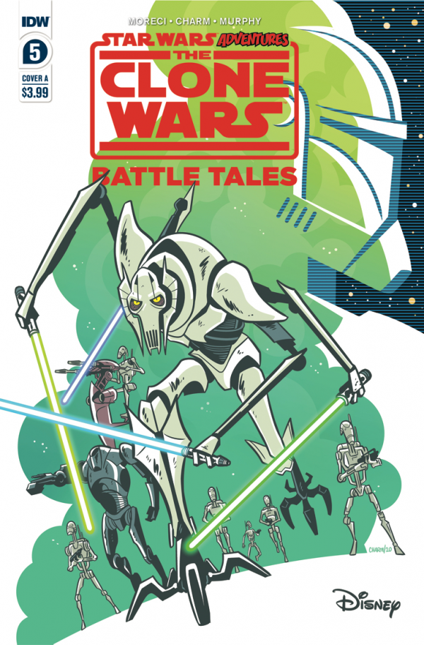 Comic Pulls for the week of October 7, 2020 STAR WARS ADVENTURES THE CLONE WARS – BATTLE TALES #5