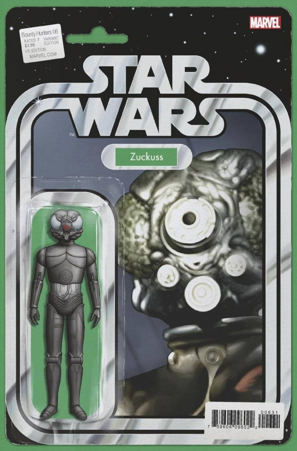 Comic Pulls for the week of October 21, 2020 Star Wars Bounty Hunters #6 Christopher Action Figure Variant