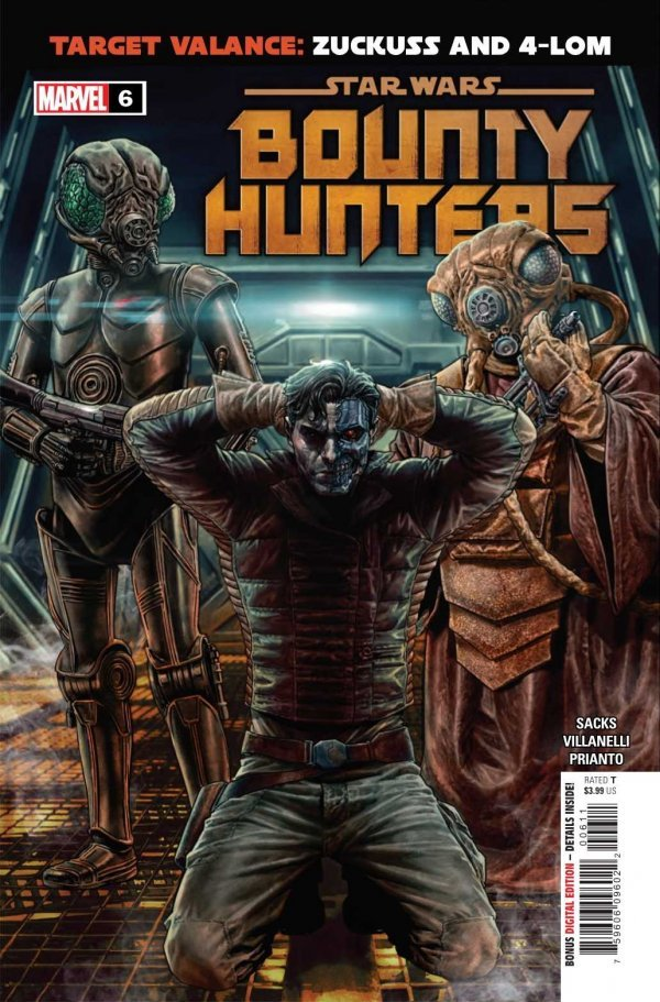 Comic Pulls for the week of October 21, 2020 Star Wars Bounty Hunters #6