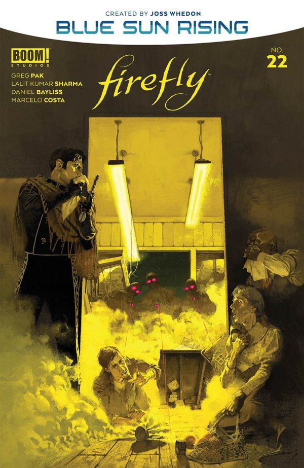 Comic Pulls for the week of November 18, 2020 Firefly #22