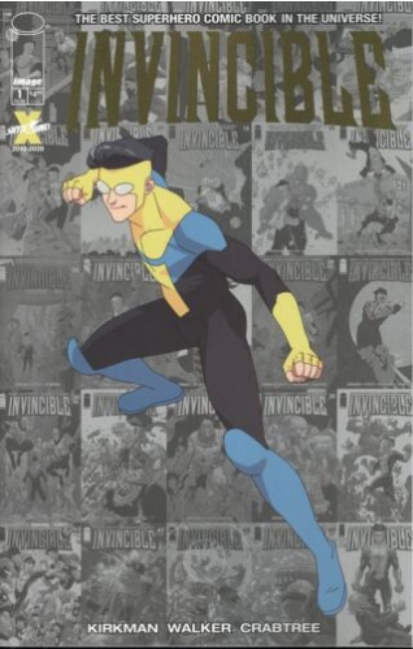 Comic Pulls for the week of November 25, 2020 Invincible #1 LCSD 2020 Foil Variant