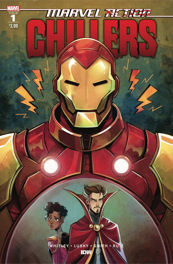 Comic Pulls for the week of November 11, 2020 Marvel Action Chillers #1
