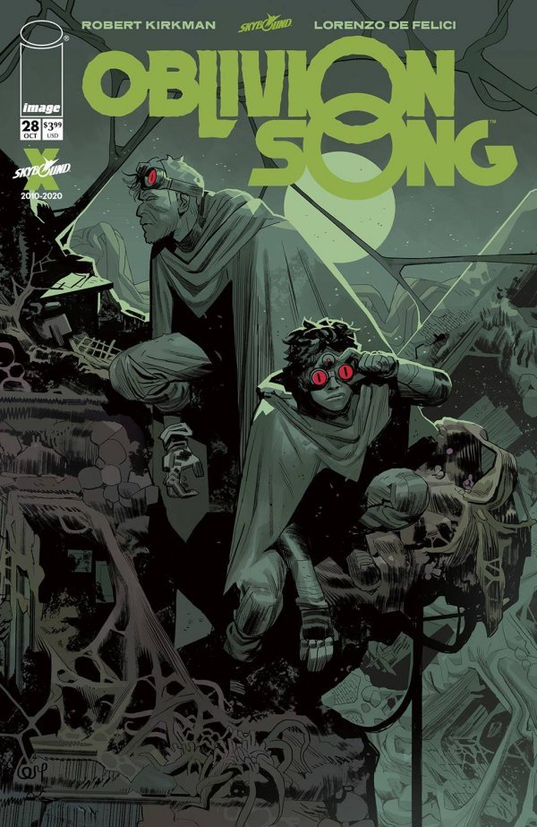 Comic Pulls for the week of November 11, 2020 Oblivion Song #28