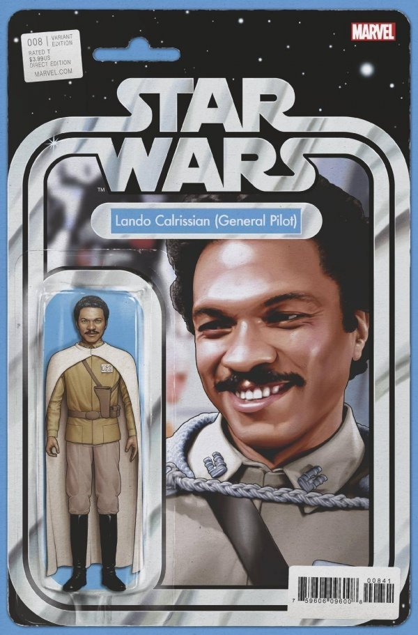 Comic Pulls for the week of November 6, 2020 Star Wars #8 Christopher Action Figure Variant