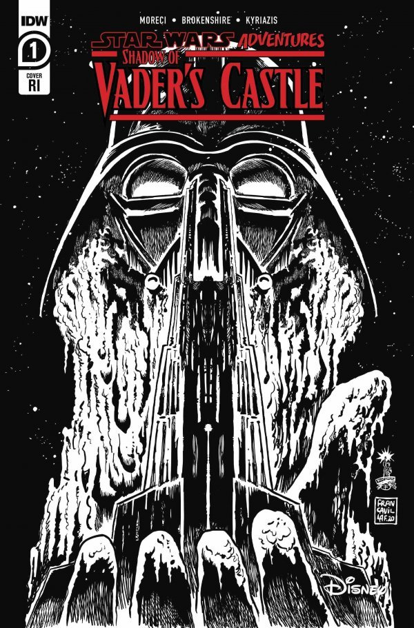 Comic Pulls for the week of November 6, 2020 Star Wars Adventures Shadow of Vader's Castle #1 110 Incentive Variant