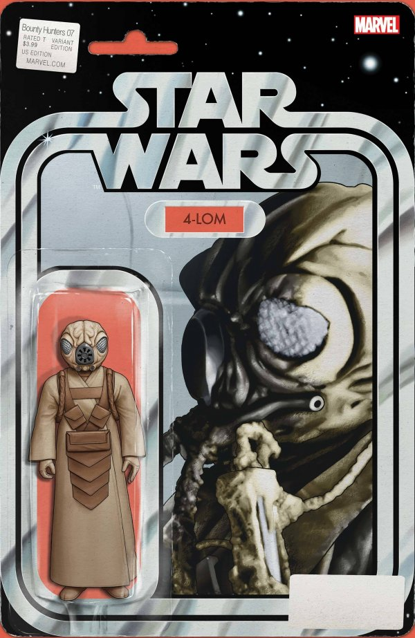 Comic Pulls for the week of November 18, 2020 Star Wars Bounty Hunters #7 Christopher Action Figure Variant