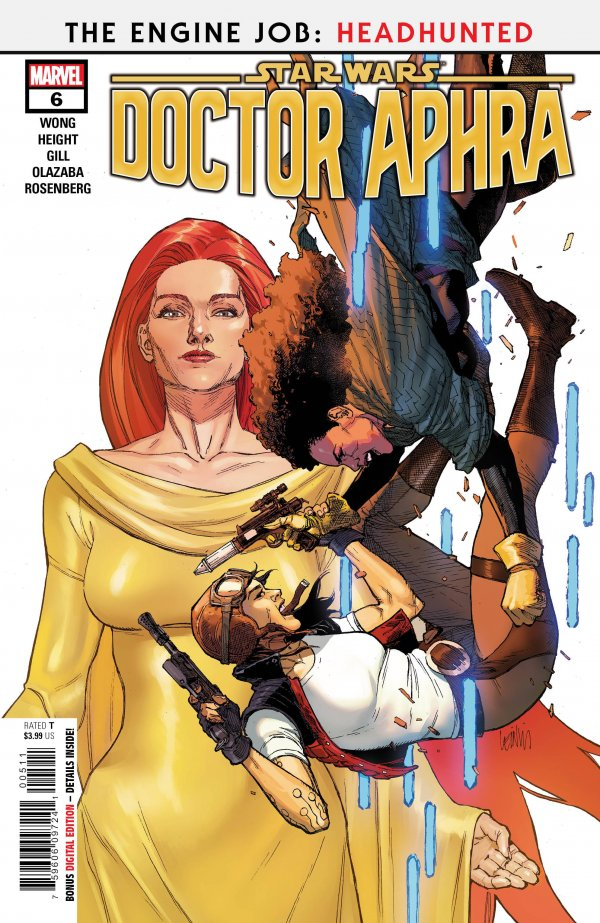 Comic Pulls for the week of November 25, 2020 Star Wars Doctor Aphra #6