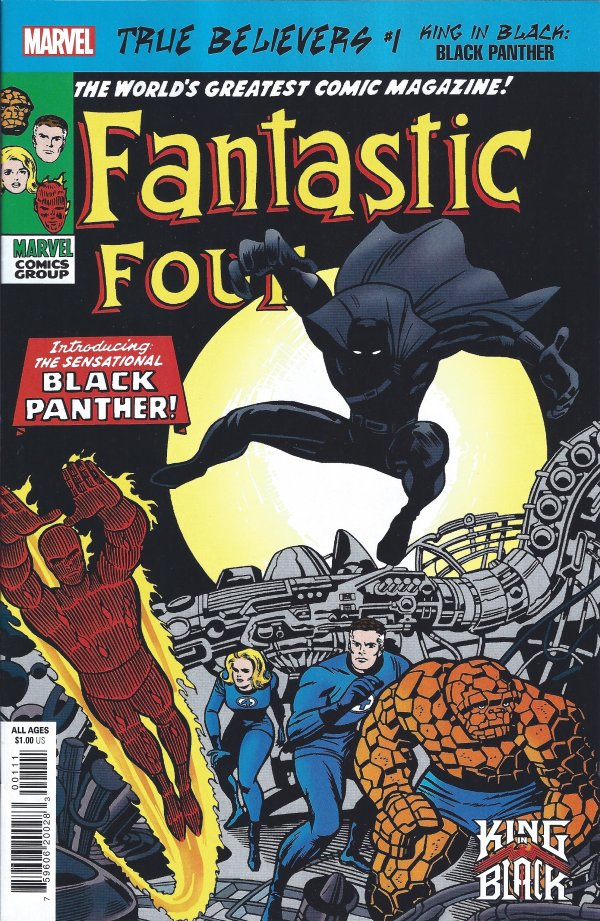 Comic Pulls for the week of November 11, 2020 True Believers King in Black – Black Panther #1
