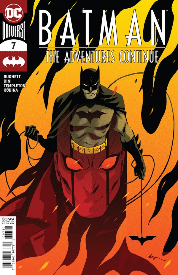 Comic Pulls for the week of December 11, 2020 Batman The Adventures Continue #7