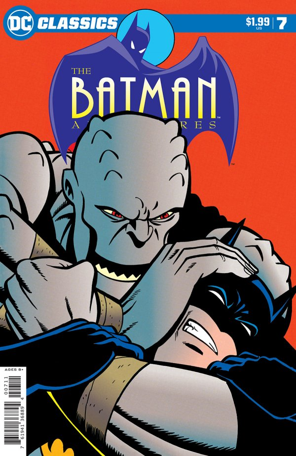 Comic Pulls for the week of December 11, 2020 DC Classics The Batman Adventures #7