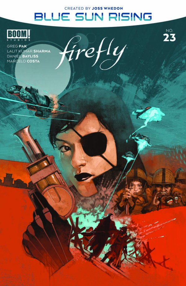 Comic Pulls for the week of December 11, 2020 Firefly #23