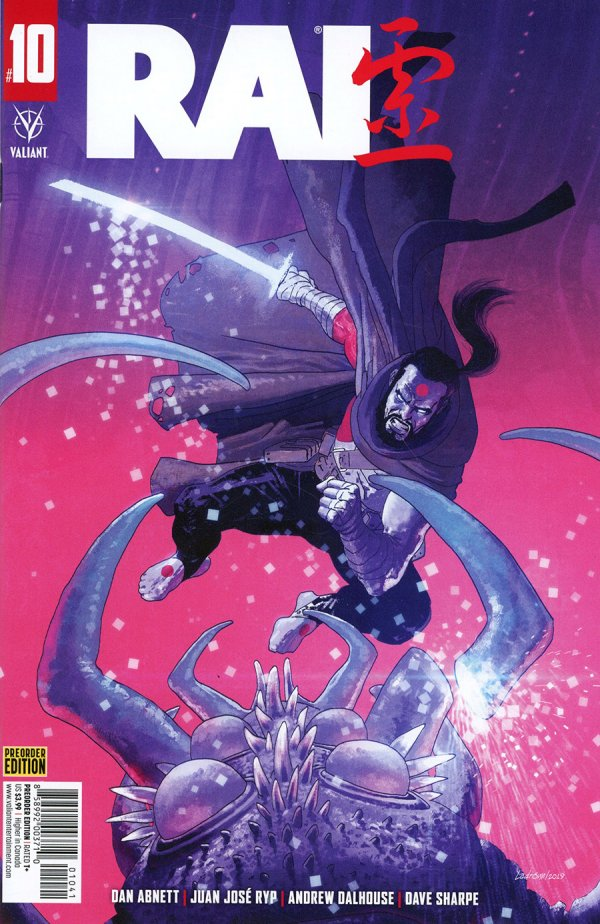 Comic Pulls for the week of December 16, 2020 Rai #10 Cover C Variant Pre-Order Edition