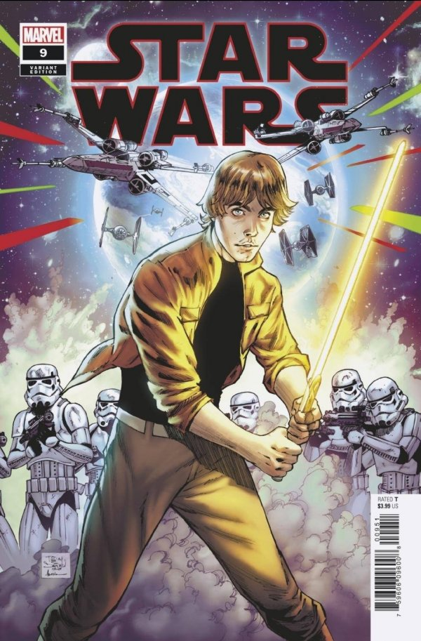 Comic Pulls for the week of December 11, 2020 Star Wars #9 125 Daniel Variant