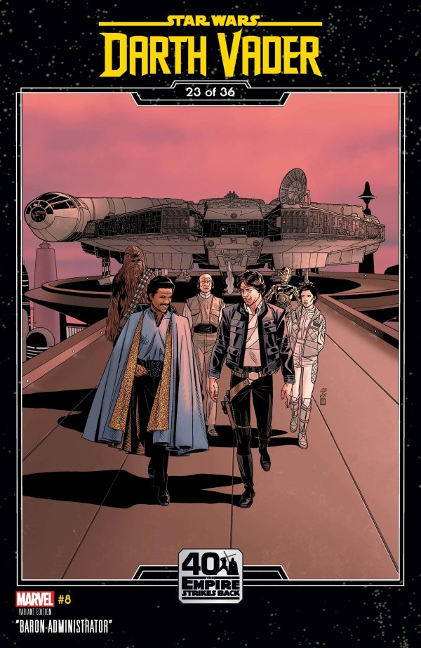 Comic Pulls for the week of December 16, 2020 Star Wars Darth Vader #8 Sprouse Empire Strikes Back Variant