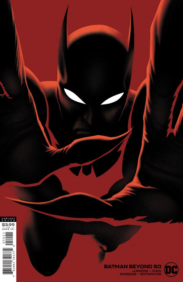 Comic Pulls for the week of December 30, 2020 Batman Beyond #50 Variant Cover
