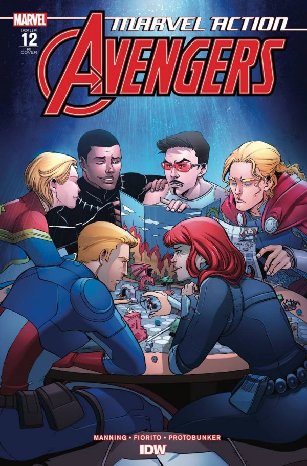 Comic Pulls for the week of December 30, 2020 Marvel Action Avengers #12 110 Incentive Variant