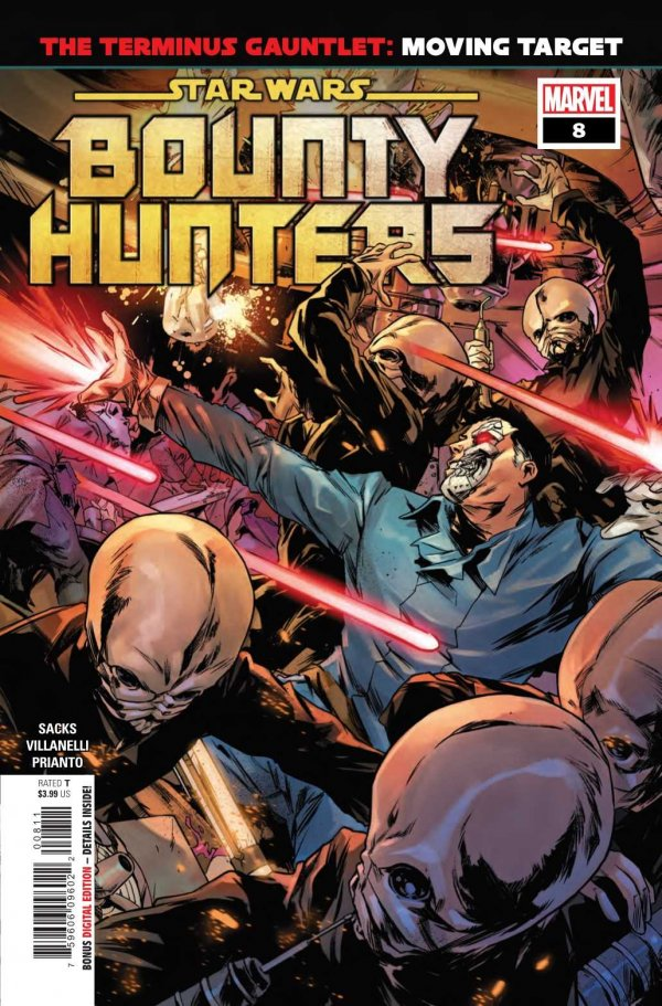 Comic Pulls for the week of December 30, 2020 Star Wars Bounty Hunters #8