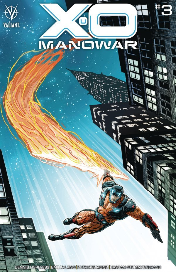 Comic Pulls for the week of December 30, 2020 X-O Manowar #3 Cover D 125 Cover Weaver