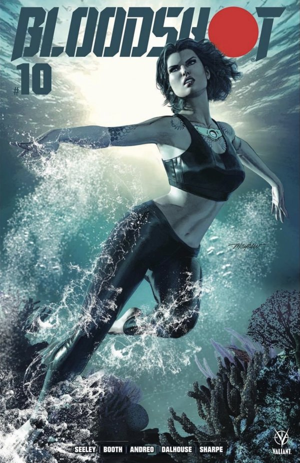 Comic Pulls for the week of February 12, 2021 Bloodshot #10 Mike Mayhew Variant A