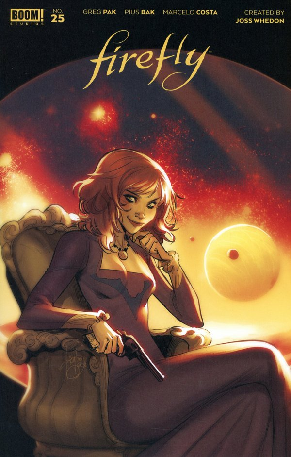 Comic Pulls for the week of February 12, 2021 Firefly #25 125 Andolfo Cover