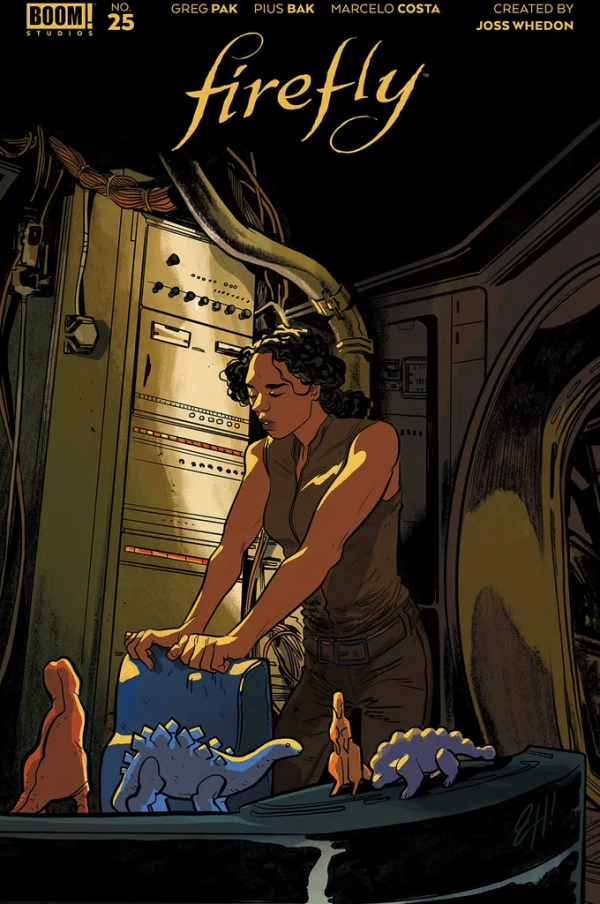Comic Pulls for the week of February 12, 2021 Firefly #25 Cover B