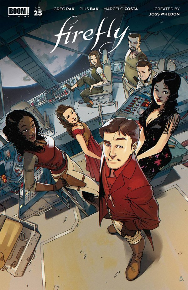 Comic Pulls for the week of February 12, 2021 Firefly #25