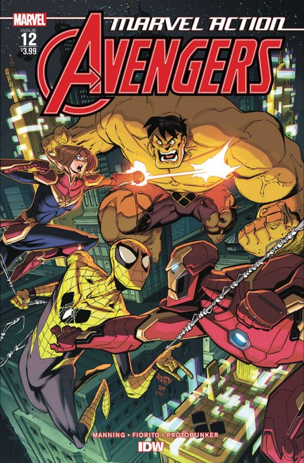 Comic Pulls for the week of February 12, 2021 Marvel Action Avengers #12